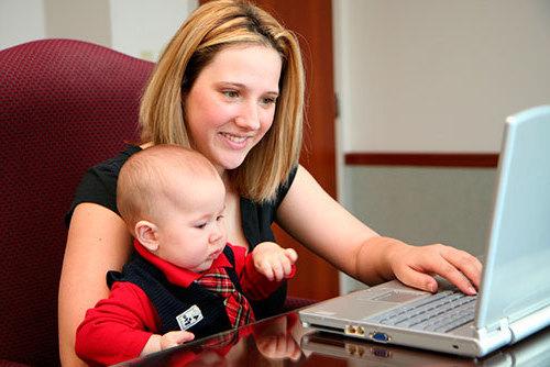 как совместить материнство и работу